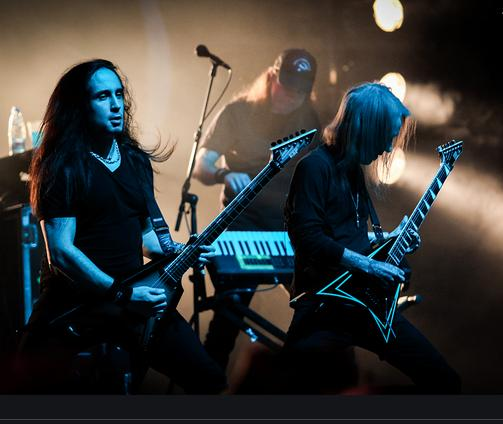 Пресс конференция Children of Bodom в Москве